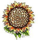 """Sunflower"" by Winterberry  Farm Studio"