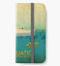 The Life Aquatic Film Poster iPhone Wallet/Case/Skin
