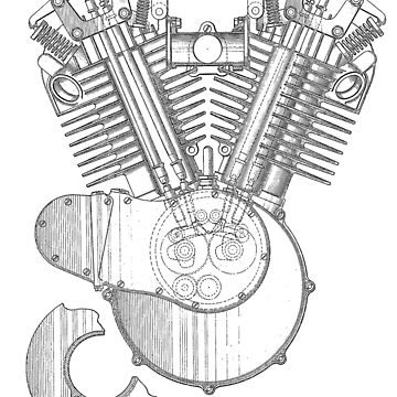V-twin Engine by coasthouse