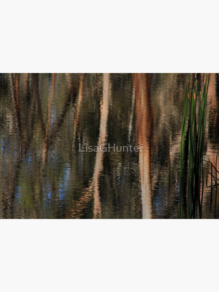 Bush Tapestry Reflection by LisaGHunter