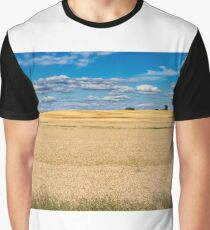 Amber Fields of Grain Graphic T-Shirt