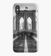 Tourists, Snow and BB iPhone Case/Skin