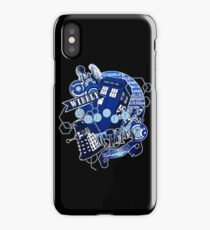 Wibbly Wobbly Timey Wimey... Stuff iPhone Case/Skin