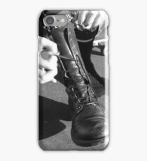 These boots were made for... iPhone Case/Skin