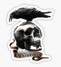 Expendables logo Sticker