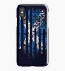 Scotland and America Flag Combo Distressed Design iPhone Case