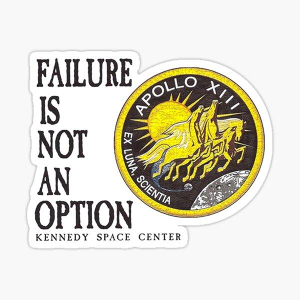 Apollo 11 - Failure is not an option Sticker