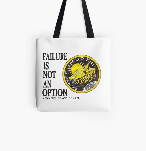 Apollo 11 - Failure is not an option All Over Print Tote Bag