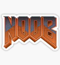 NOOB Sticker