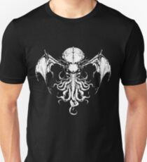 Cthulhu-Sumi (B&W version) Unisex T-Shirt