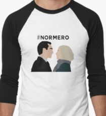 NORMERO Men's Baseball ¾ T-Shirt