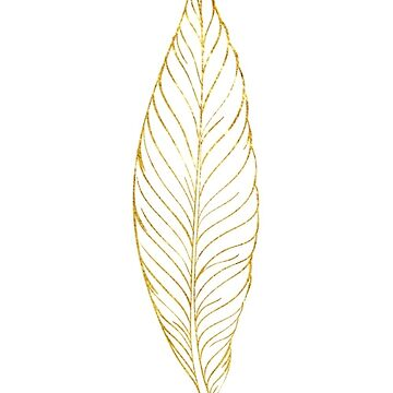 Single Feather (Gold) by coasthouse