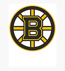Boston Bruins Photographic Print