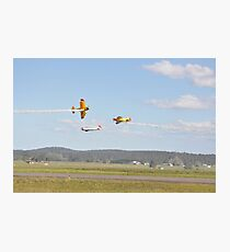 Kempsey Air Show, Australia 2016 - opposition pass Photographic Print
