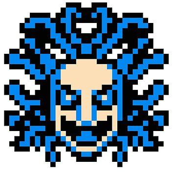 flying medusa head by MetroidRhyme