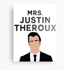 MRS. JUSTIN THEROUX Canvas Print