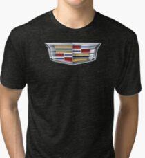 cadillac logo Tri-blend T-Shirt