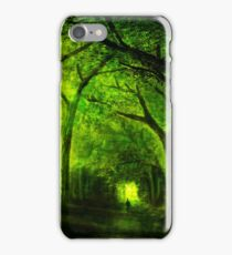 green forest zelda iPhone Case/Skin