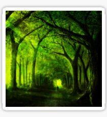 green forest zelda Sticker