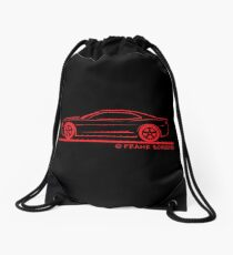2010 Chevrolet Camaro Chevy Coupe Drawstring Bag
