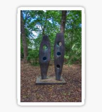 Standing Sculptures Sticker