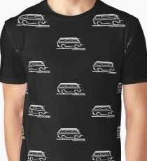 Speedy VW Vanagon Caravelle Transporter Westfalia Graphic T-Shirt