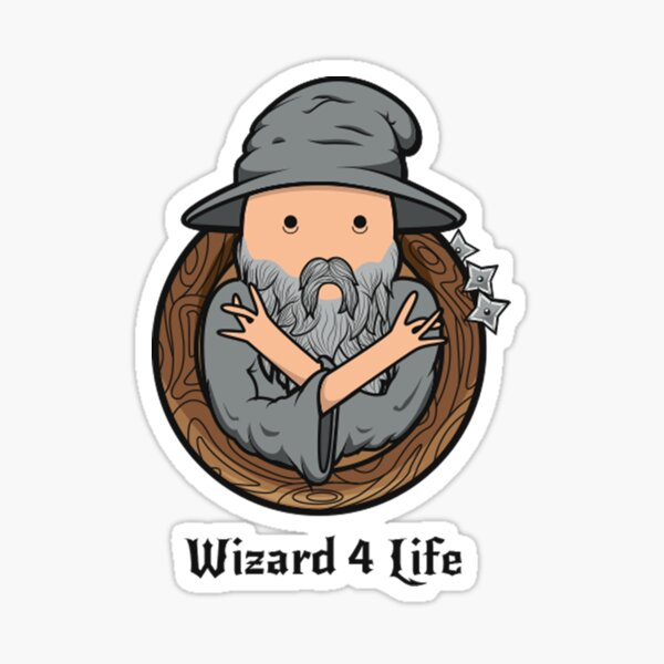 Wizards Represent! Sticker