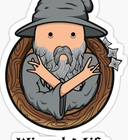 Wizards Represent! Sticker