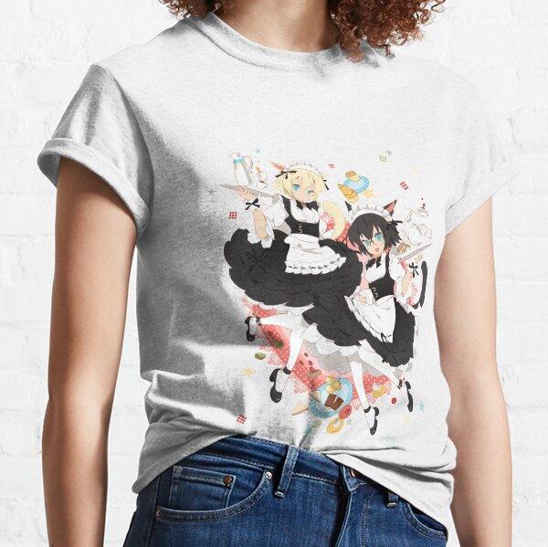 FFXIV Miqo'te Maid Classic T-Shirt