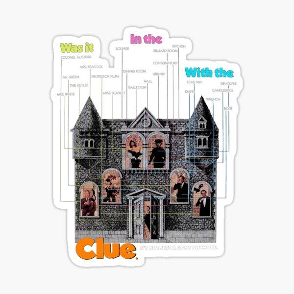 Clue Sticker