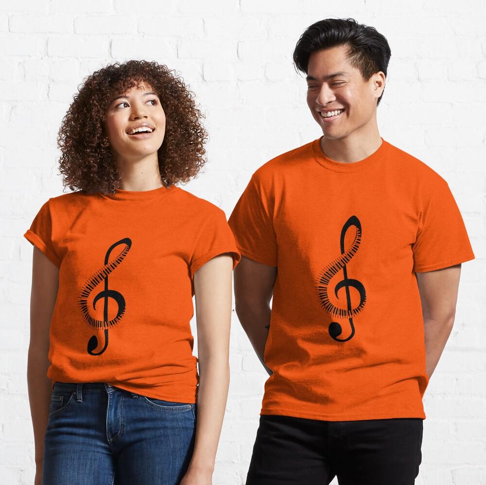 piano, note Classic T-Shirt