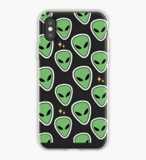 Patterned Aliens iPhone Case