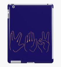 Spock, Paper, Scissors iPad Case/Skin