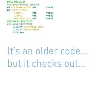 Older Code by geekcasuals