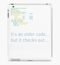 Older Code iPad Case/Skin