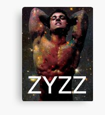 Zyzz - Son of Zeus, Brother of Hercules, Father of Aesthetics Canvas Print