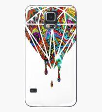 Flüssiger Diamant Hülle & Klebefolie für Samsung Galaxy