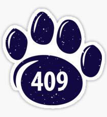409 Paw Print Sticker
