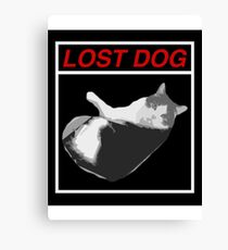 Lost Dog Canvas Print