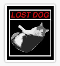 Lost Dog Sticker