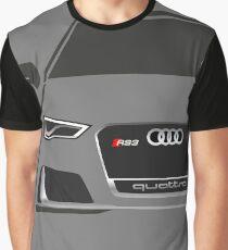 Audi RS3 Half Cut Graphic T-Shirt