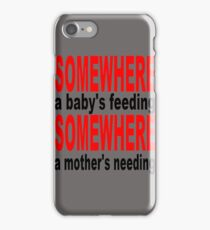 Motherhood iPhone Case/Skin