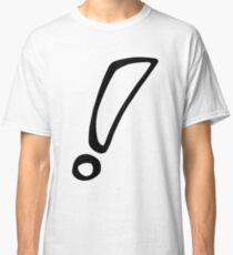 exclamation Classic T-Shirt
