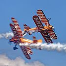 The Breitling Wingwalkers by Andrew Harker