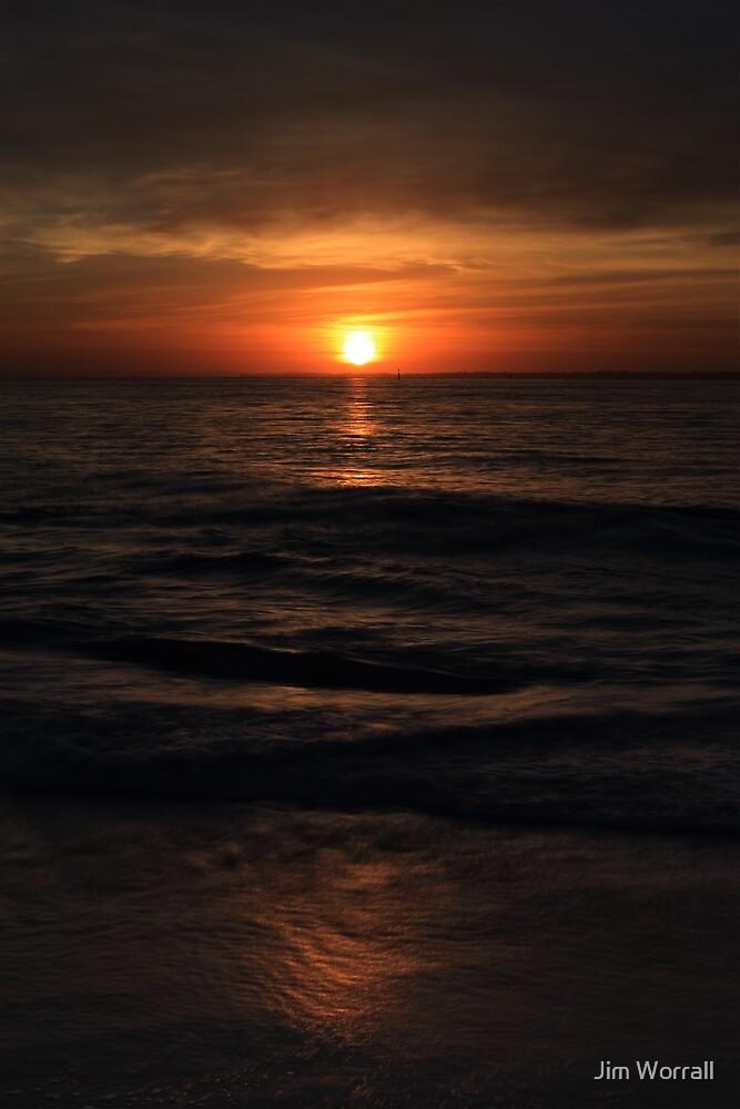 Sunrise at Balnarring Beach by Jim Worrall