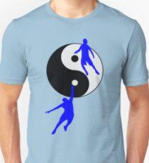Camiseta unisex Baloncesto Yin y Yang