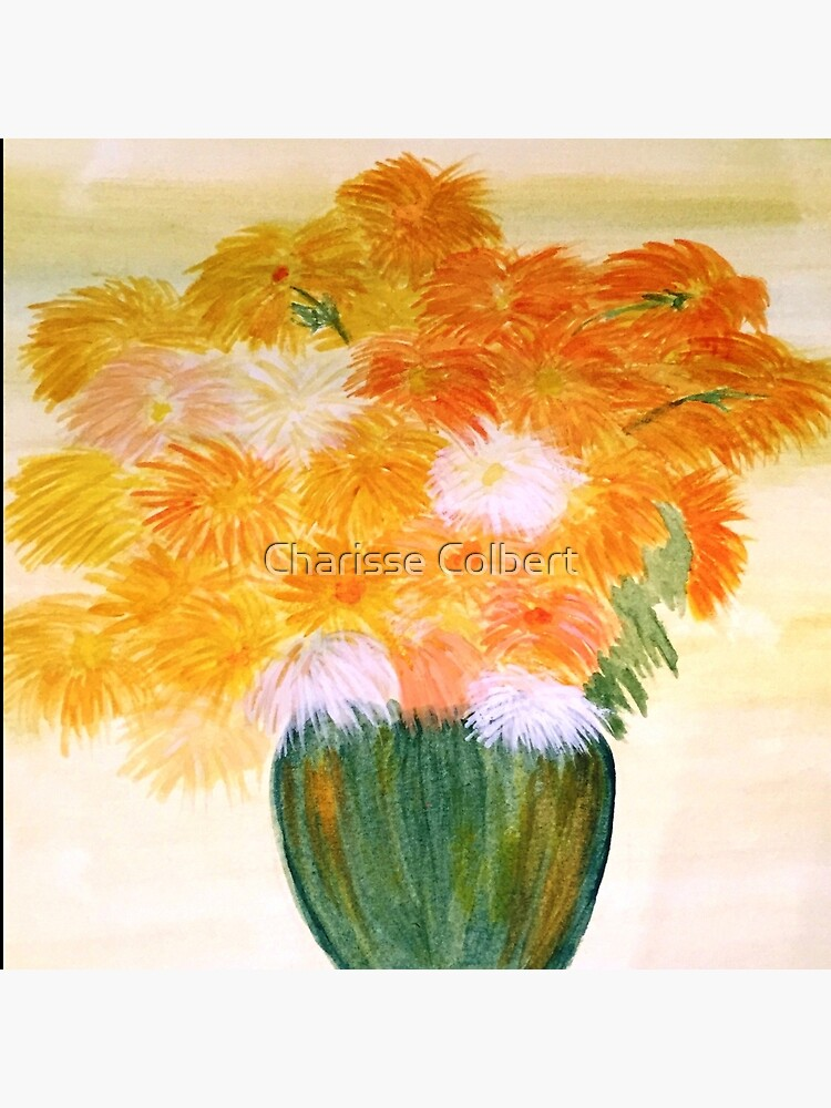 Chrysanthemums  by charissecolbert