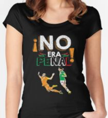 No Era Penal (It wasn't a penalty) Women's Fitted Scoop T-Shirt
