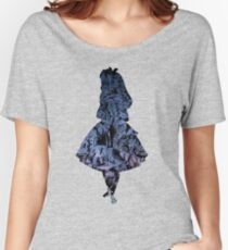 Alice in the Sky Women's Relaxed Fit T-Shirt