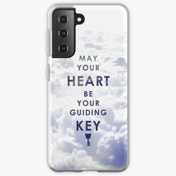 May your Heart be your guiding Key - Background version  Samsung Galaxy Soft Case